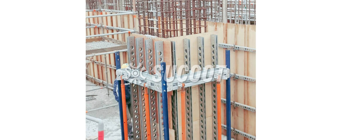 SUCOOT column forms are highly adaptable