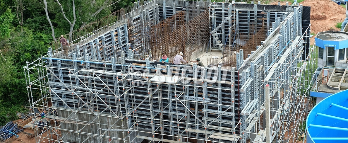 Sucoot System Formwork - Wall Form